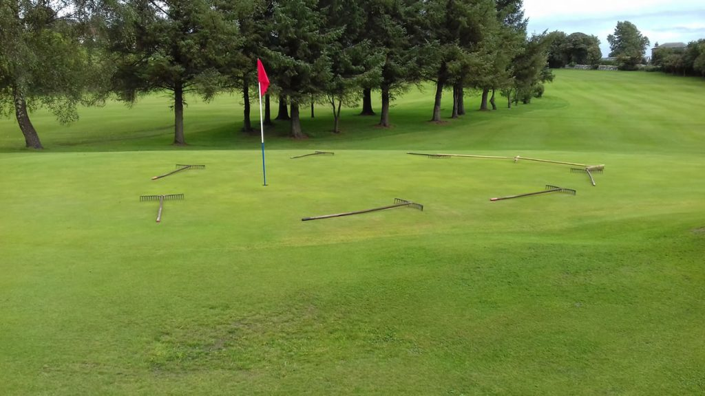 Green Keepers Challenge 2018 - 1st Green