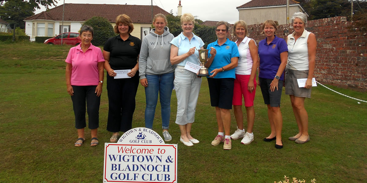 Mrs RD Watson Ladies Scratch Trophy
