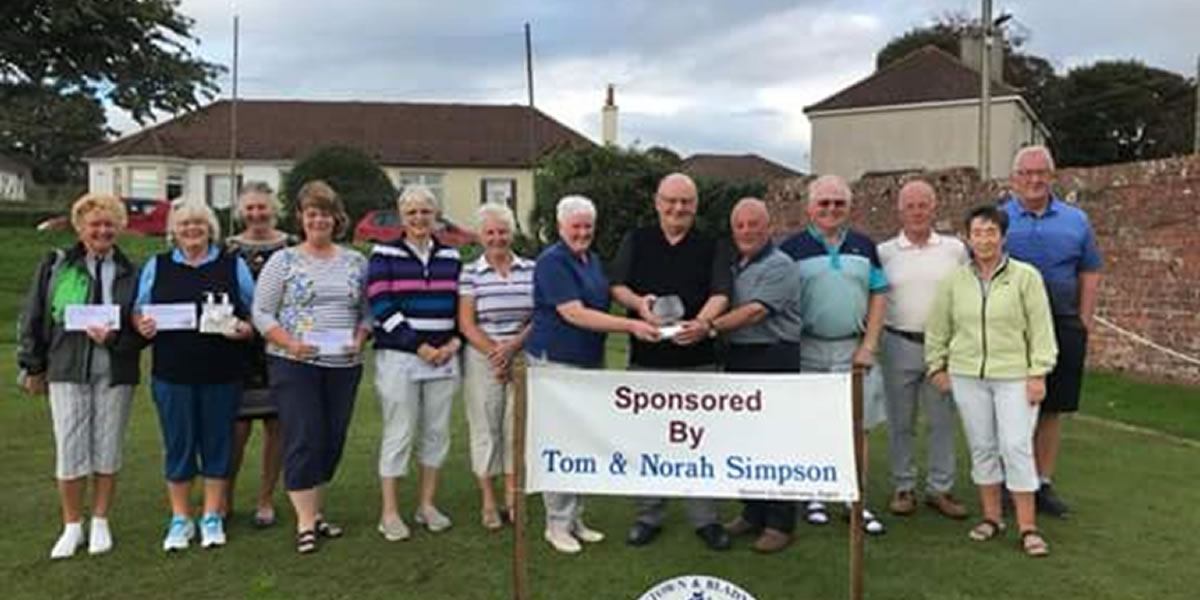 Seniors 3 Person Texas Scramble 2018